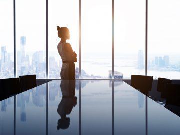 Career woman, reflect, career path