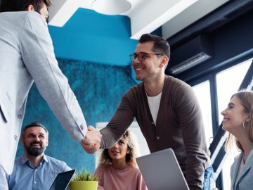 Interview tips, tricks, shaking hands, meeting