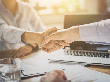 job interview, shaking hands, success, career