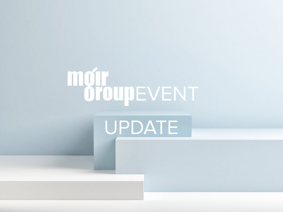 Moir Group, Events, Update, 2020, COVID-19