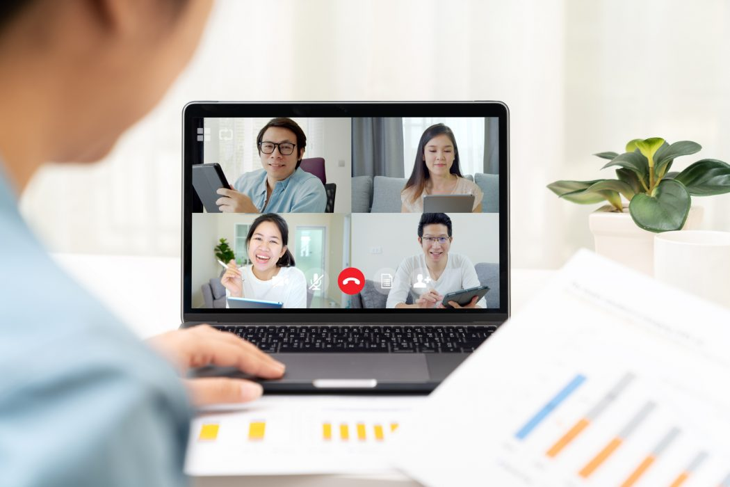 working from home, video calls, candidate, job seeking, covid-19